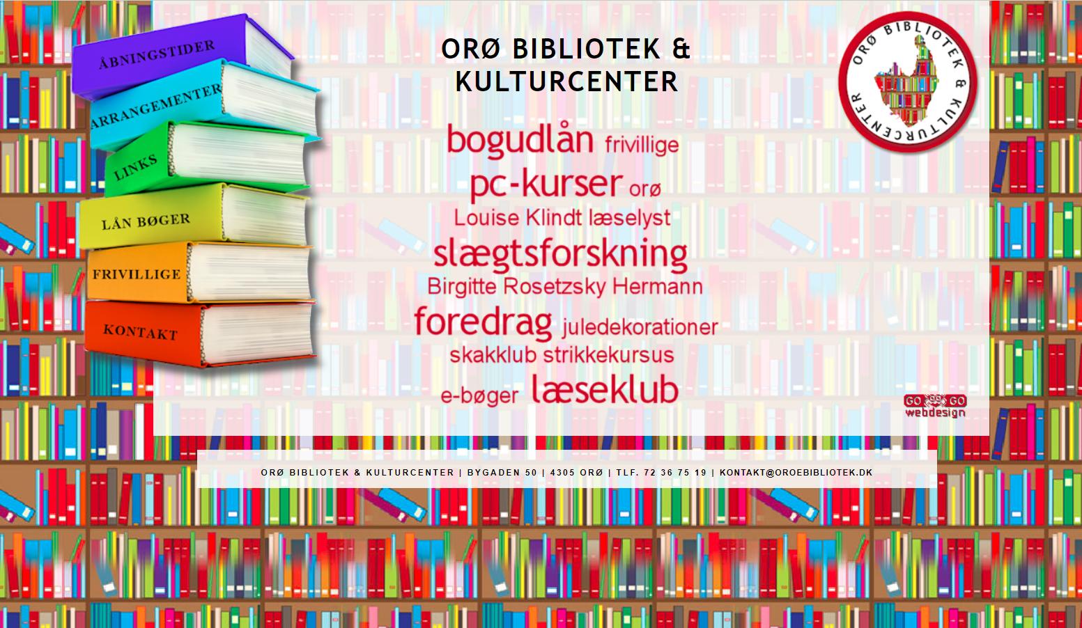 oroebibliotek.dk